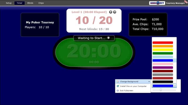 Poker Blind Timer 6