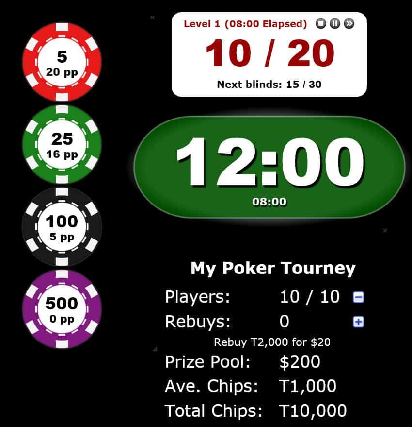 Poker Blind Timer 18