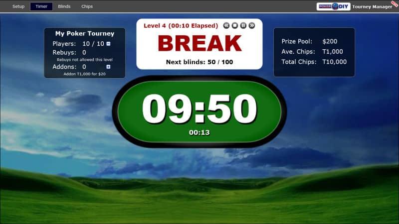 Poker Blind Timer 10
