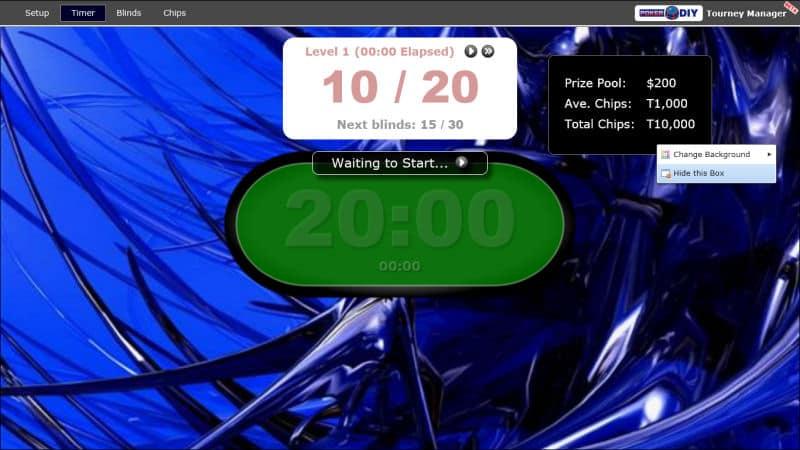 Poker Blind Timer 3