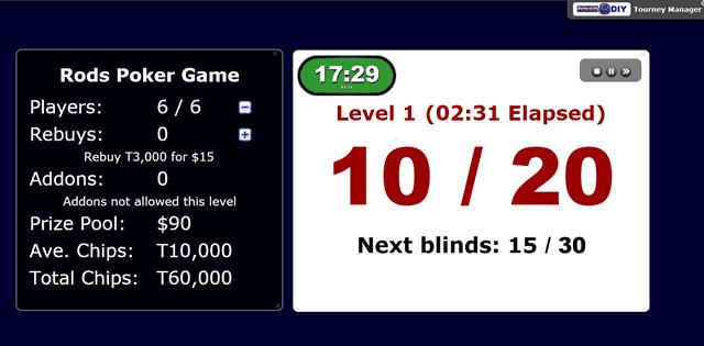 Poker Blind Timer 16