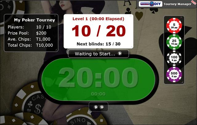 Poker Blind Timer 11