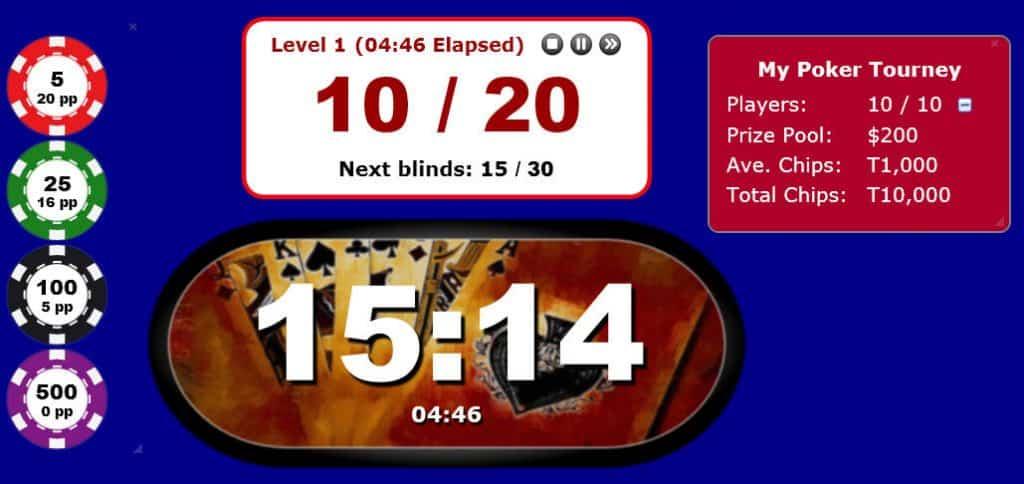 Poker Blind Timer 5