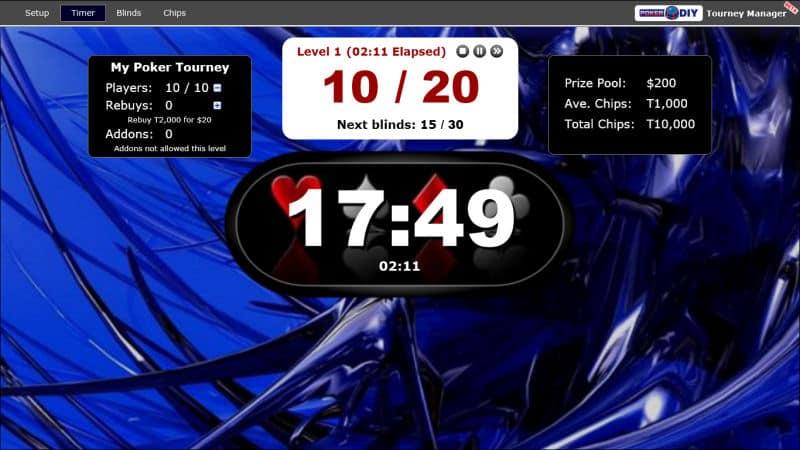 Poker Blind Timer 8