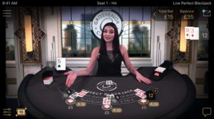 Live blackjack games